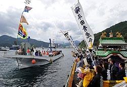 釜石の曳舟まつり